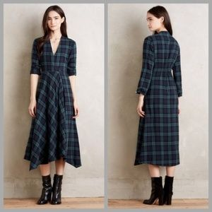 Anthropologie Isabella Sinclair Plaid Dress in XL